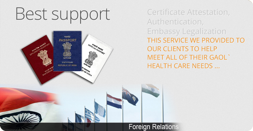 Ministry of external affairs attestation in india degree for Consul external service